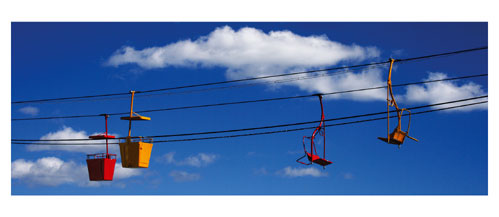 Palavas, Le Transcanal. Carte postale panoramique 10x23 cm - Photographe: Marianne Raous