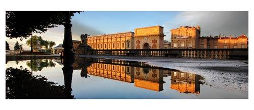 Montpellier - Les Jardins du Peyrou - L'arc de triomphe - Coucher de soleil